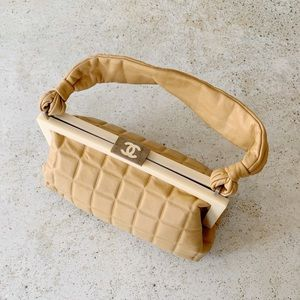 🌾 VINTAGE CHANEL Chocolate Quilted Leather Bag